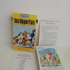 Jeux de cartes: JUEGO DE FAMILIAS LOS DEPORTES . SIN USO. 1965. HERACLIO FOURNIER. Lote 163449086