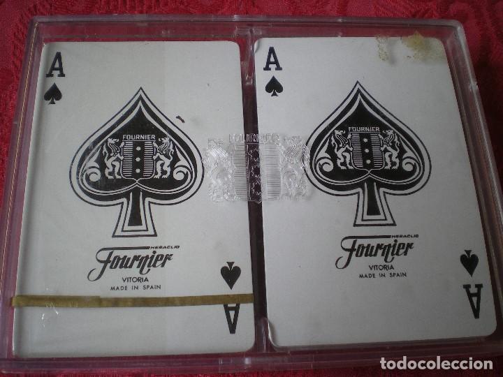 LOTE 2 BARAJAS FOURNIER MOTIVOS TAURINOS. EN CAJA, UNA PRECINTADA, LA OTRA ABIERTA PERO SIN USO. (Juguetes y Juegos - Cartas y Naipes - Barajas de Póker)