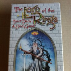 Barajas de cartas: LORD OF DE RINGS. DIFÍCIL DE ENCONTRAR. DESCATALOGADO.. Lote 163488302