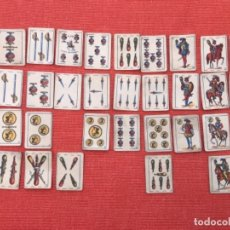 Barajas de cartas: ANTIGUA BARAJA DE CARTAS ESPAÑOLA - LILIPUT - EL CID MARCA DE FABRICA - SIMEON DURA VALENCIA 32. Lote 163513830