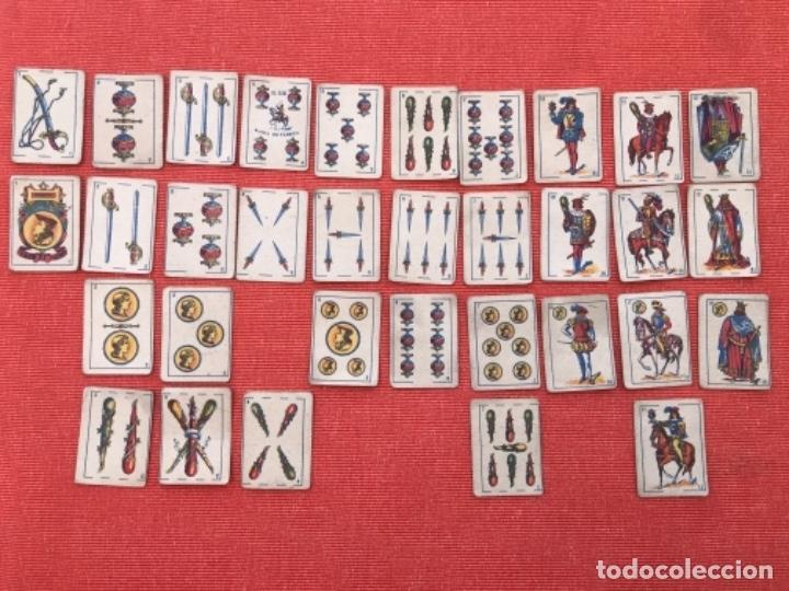 Barajas de cartas: ANTIGUA BARAJA DE CARTAS ESPAÑOLA - LILIPUT - EL CID MARCA DE FABRICA - SIMEON DURA VALENCIA 32 - Foto 7 - 163513830
