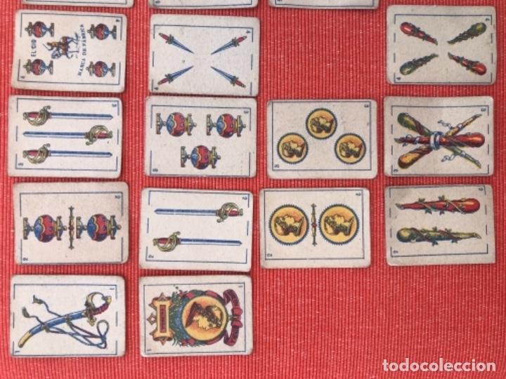 Barajas de cartas: ANTIGUA BARAJA DE CARTAS ESPAÑOLA - LILIPUT - EL CID MARCA DE FABRICA - SIMEON DURA VALENCIA 32 - Foto 8 - 163513830