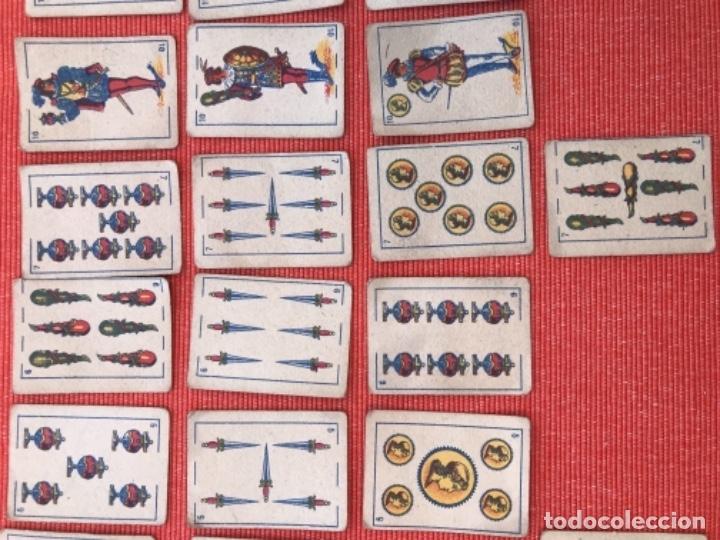 Barajas de cartas: ANTIGUA BARAJA DE CARTAS ESPAÑOLA - LILIPUT - EL CID MARCA DE FABRICA - SIMEON DURA VALENCIA 32 - Foto 9 - 163513830
