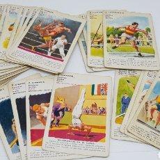 Barajas de cartas: DIFÍCIL BARAJA DE CARTAS LOS DEPORTES NO SE SI OLÍMPICOS FOURNIER. Lote 194931491