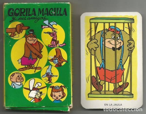GORILA MAGILLA JUEGO BARAJA INFANTIL NAIPES COMAS 1967 COMPLETO (Juguetes y Juegos - Cartas y Naipes - Barajas Infantiles)