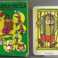 Barajas de cartas: GORILA MAGILLA JUEGO BARAJA INFANTIL NAIPES COMAS 1967 COMPLETO. Lote 163576930