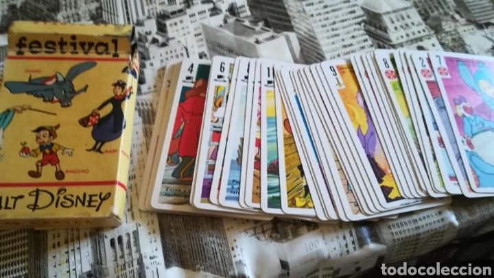 Barajas de cartas: Baraja festival. Completa - Foto 2 - 163589596