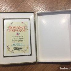 Barajas de cartas: BARAJA HERACLIO FOURNIER ROMANCE ESPAÑOL. Lote 163609525