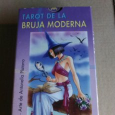 Barajas de cartas: TAROT DE LA BRUJA MODERNA. Lote 163640894