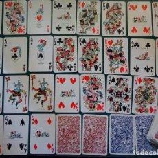 Barajas de cartas: 2 BARAJAS DE CARTAS DE POKER. AÑO 1968. ILUSTRADOR ANTONIO MINGOTE. CURIOSOS NAIPES. 300 GR. Lote 163825234