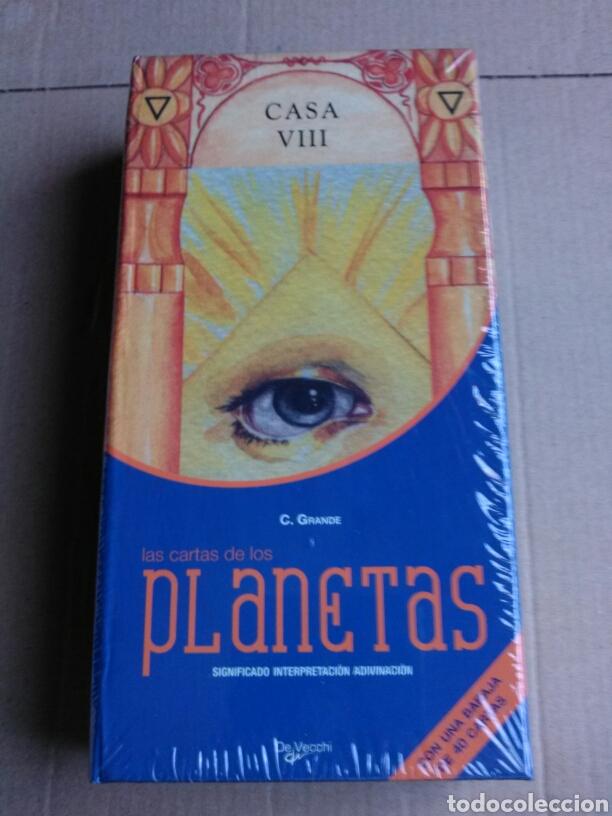 TAROT PLANETAS. DESCATALOGADO. (Juguetes y Juegos - Cartas y Naipes - Barajas Tarot)