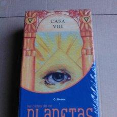 Barajas de cartas: TAROT PLANETAS. DESCATALOGADO.. Lote 163964145