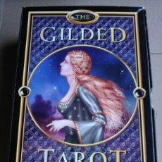 Barajas de cartas: TAROT GILDED.. Lote 163965116