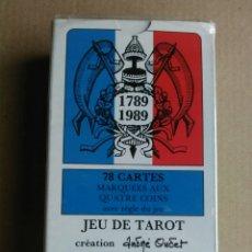 Barajas de cartas: JUEGO DE TAROT. Lote 164448673