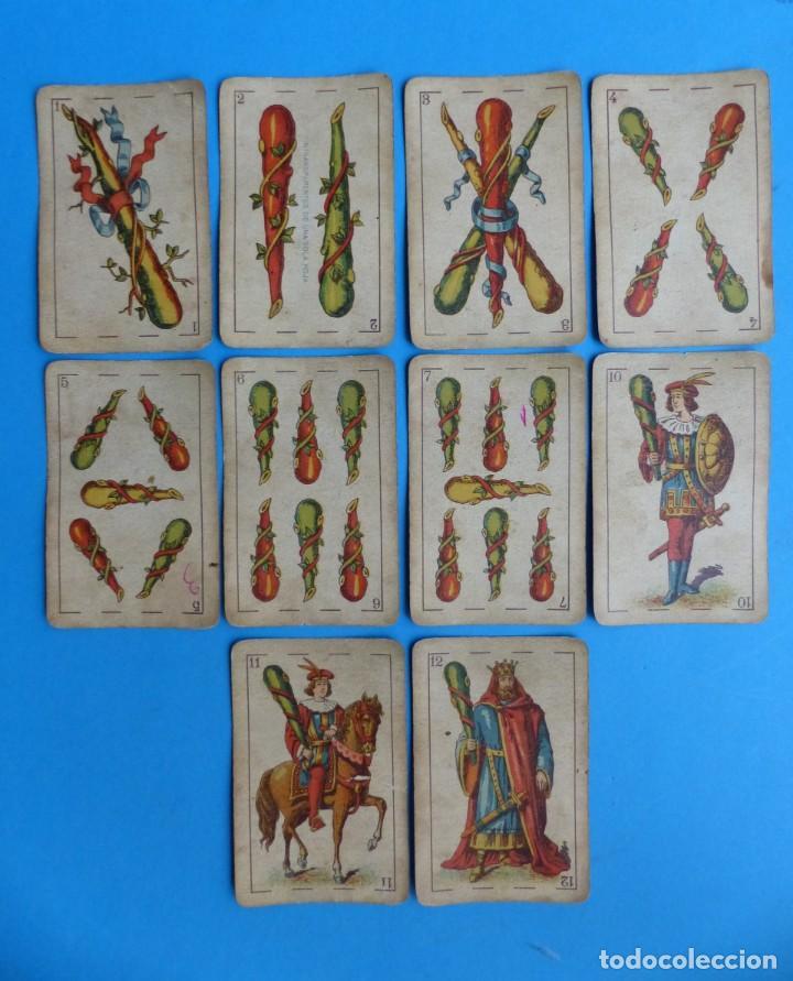 Barajas de cartas: BARAJA ANTIGUA SIMEON DURA VALENCIA NAIPES INTRANSPARENTES DE UNA SOLA HOJA Nº 26 FALTA 1 CARTA - Foto 11 - 164594842