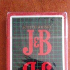 Baralhos de cartas: NAIPE ESPAÑOL DE 40 CARTAS. PUBLICIDAD DE J&B PRECINTADO. Lote 164695730