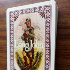 Barajas de cartas: FOURNIER BARAJA DE CARTAS CON PUBLICIDAD DE WHISKY LONG JOHN. Lote 164720816
