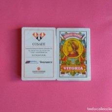 Barajas de cartas: BARAJA DE CARTAS HERACLIO FOURNIER PUBLICIDAD COSADE 40 CARTAS NAIPES PRECINTADA. Lote 164797502