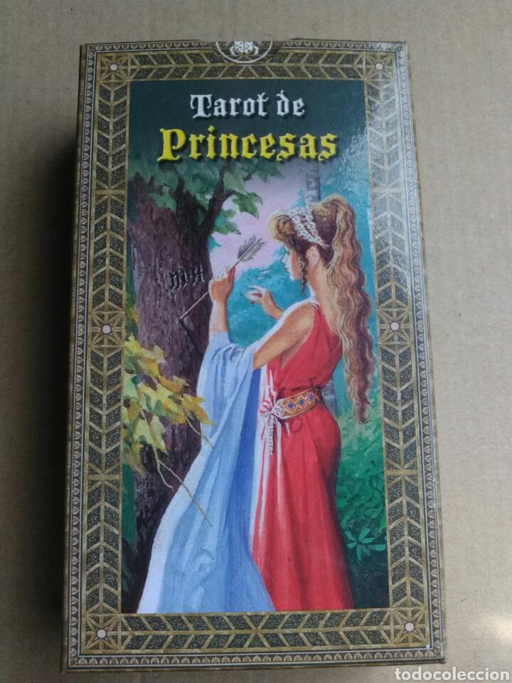 TAROT DE PRINCESAS. (Juguetes y Juegos - Cartas y Naipes - Barajas Tarot)