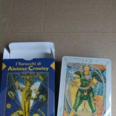 Barajas de cartas: TAROT ALEISTER CROWLEY. Lote 164904481
