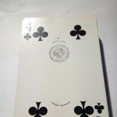 Barajas de cartas: BARAJA DE POKER FOURNIER CON ERROR DESCONOZCO EL MOTIVO. Lote 164926674
