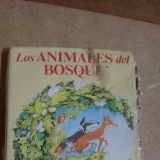 Barajas de cartas: BARAJA INFANTIL LOS ANIMALES DEL BOSQUE. HERACLIO FOURNIER. Lote 165165456