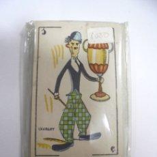 Barajas de cartas: BARAJA DE CARTAS. CINE MANUAL. PERSONAJES DE CINE. CERRADA. BUEN ESTADO. VER. Lote 165330714