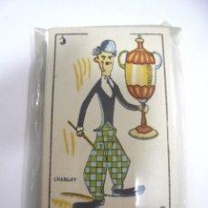 Barajas de cartas: BARAJA DE CARTAS. CINE MANUAL. PERSONAJES DE CINE. CERRADA. BUEN ESTADO. VER. Lote 165331274