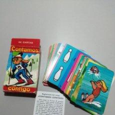 Jeux de cartes: ANTIGUA BARAJA INFANTIL FOURNIER CONTAMOS CONTIGO BUEN ESTADO. Lote 165355950