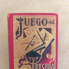 Barajas de cartas: JUEGO DEL TRESILLO. S. CALLEJA. 1902.. Lote 165356026