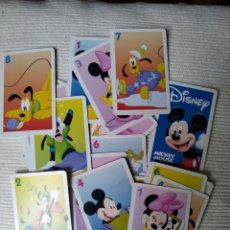 Barajas de cartas: BARAJA MICKEY MOUSE DISNEY COMPLETA. Lote 165373476