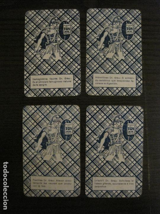 Barajas de cartas: BARAJA DE CARTAS ANTIGUA-FARMACIA-PUBLICIDAD PASTILLAS DR GRAU -COMPLETA 48 CR-VER FOTOS-(V-17.077) - Foto 8 - 165374598