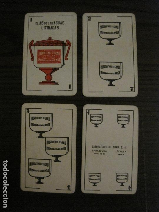 Barajas de cartas: BARAJA DE CARTAS ANTIGUA-FARMACIA-PUBLICIDAD PASTILLAS DR GRAU -COMPLETA 48 CR-VER FOTOS-(V-17.077) - Foto 9 - 165374598