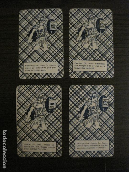 Barajas de cartas: BARAJA DE CARTAS ANTIGUA-FARMACIA-PUBLICIDAD PASTILLAS DR GRAU -COMPLETA 48 CR-VER FOTOS-(V-17.077) - Foto 10 - 165374598