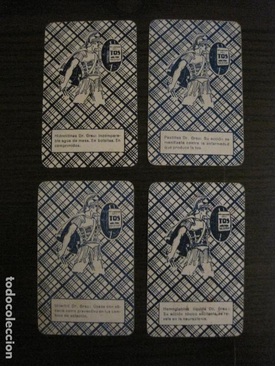 Barajas de cartas: BARAJA DE CARTAS ANTIGUA-FARMACIA-PUBLICIDAD PASTILLAS DR GRAU -COMPLETA 48 CR-VER FOTOS-(V-17.077) - Foto 14 - 165374598