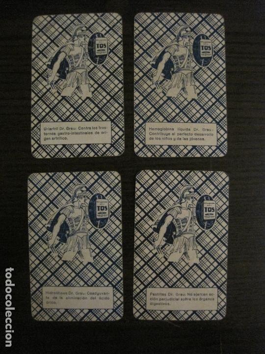 Barajas de cartas: BARAJA DE CARTAS ANTIGUA-FARMACIA-PUBLICIDAD PASTILLAS DR GRAU -COMPLETA 48 CR-VER FOTOS-(V-17.077) - Foto 16 - 165374598