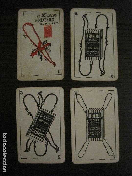Barajas de cartas: BARAJA DE CARTAS ANTIGUA-FARMACIA-PUBLICIDAD PASTILLAS DR GRAU -COMPLETA 48 CR-VER FOTOS-(V-17.077) - Foto 21 - 165374598