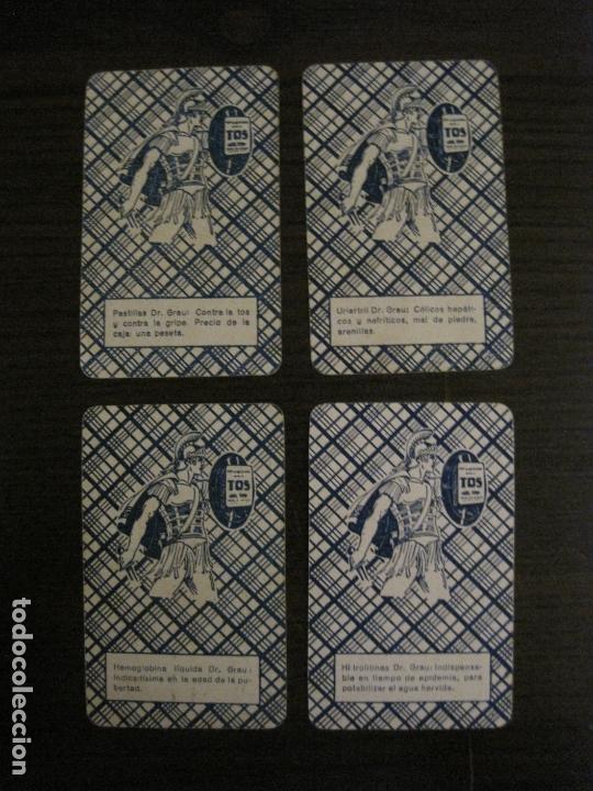 Barajas de cartas: BARAJA DE CARTAS ANTIGUA-FARMACIA-PUBLICIDAD PASTILLAS DR GRAU -COMPLETA 48 CR-VER FOTOS-(V-17.077) - Foto 24 - 165374598