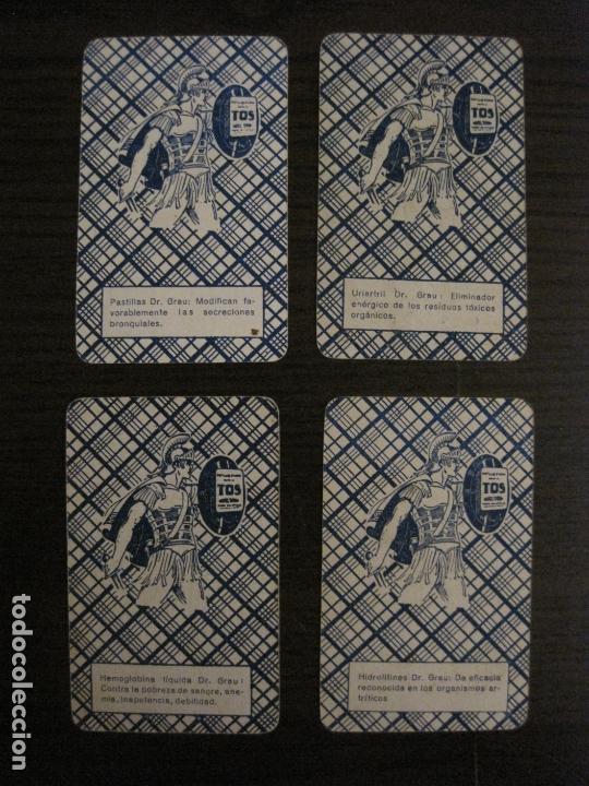 Barajas de cartas: BARAJA DE CARTAS ANTIGUA-FARMACIA-PUBLICIDAD PASTILLAS DR GRAU -COMPLETA 48 CR-VER FOTOS-(V-17.077) - Foto 26 - 165374598