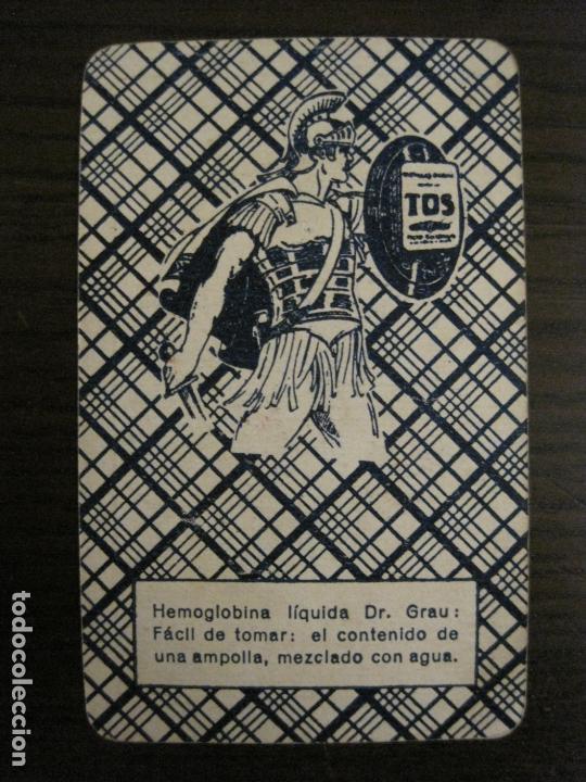 Barajas de cartas: BARAJA DE CARTAS ANTIGUA-FARMACIA-PUBLICIDAD PASTILLAS DR GRAU -COMPLETA 48 CR-VER FOTOS-(V-17.077) - Foto 27 - 165374598