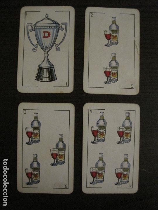 Barajas de cartas: BARAJA DE CARTAS ANTIGUA-PUBLICIDAD GASEOSAS D-ANTECESOR COCA COLA-NAIPES COMAS-VER FOTOS-(V-17.078) - Foto 11 - 165376550