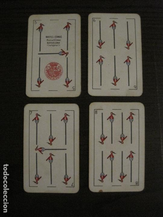 Barajas de cartas: BARAJA DE CARTAS ANTIGUA-PUBLICIDAD GASEOSAS D-ANTECESOR COCA COLA-NAIPES COMAS-VER FOTOS-(V-17.078) - Foto 19 - 165376550