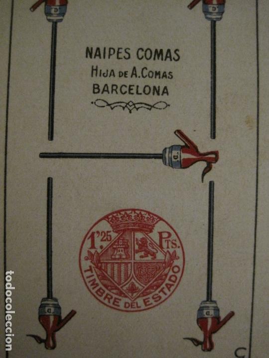 Barajas de cartas: BARAJA DE CARTAS ANTIGUA-PUBLICIDAD GASEOSAS D-ANTECESOR COCA COLA-NAIPES COMAS-VER FOTOS-(CR-2520) - Foto 20 - 165376550