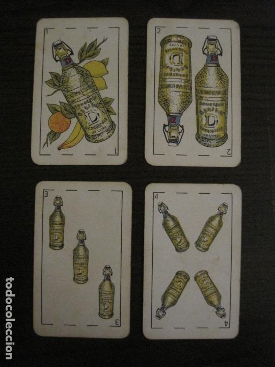 Barajas de cartas: BARAJA DE CARTAS ANTIGUA-PUBLICIDAD GASEOSAS D-ANTECESOR COCA COLA-NAIPES COMAS-VER FOTOS-(V-17.078) - Foto 24 - 165376550