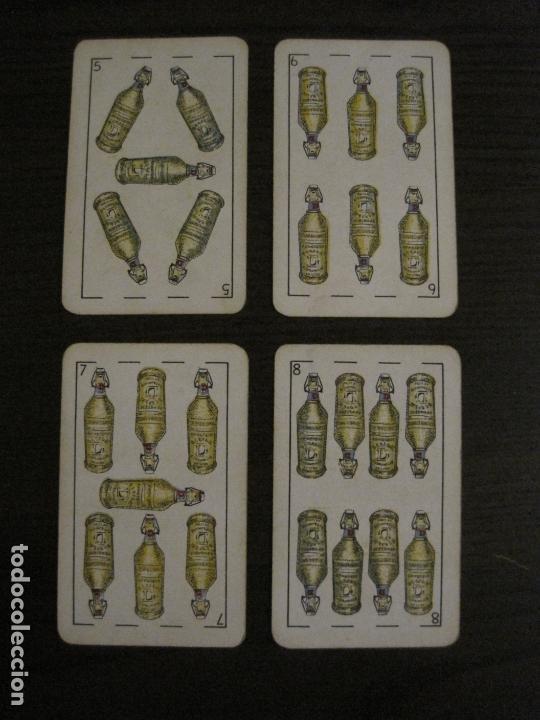 Barajas de cartas: BARAJA DE CARTAS ANTIGUA-PUBLICIDAD GASEOSAS D-ANTECESOR COCA COLA-NAIPES COMAS-VER FOTOS-(V-17.078) - Foto 26 - 165376550