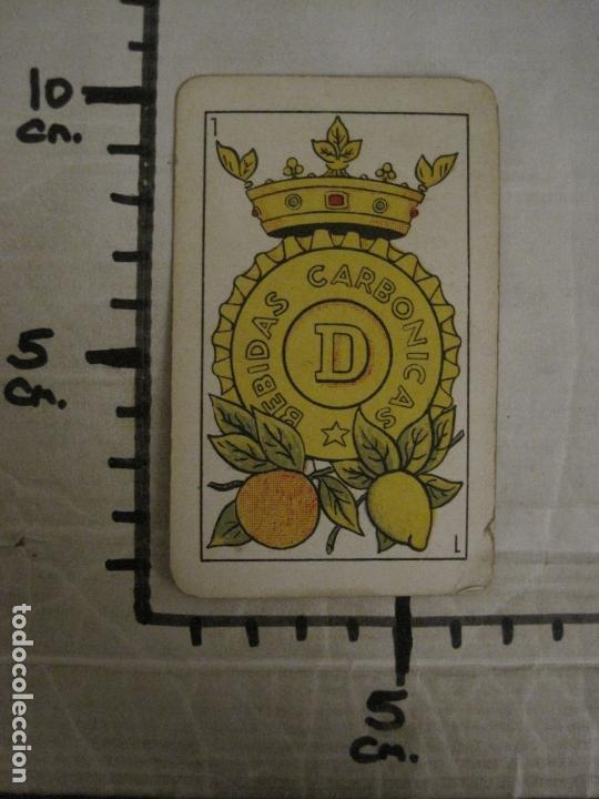 Barajas de cartas: BARAJA DE CARTAS ANTIGUA-PUBLICIDAD GASEOSAS D-ANTECESOR COCA COLA-NAIPES COMAS-VER FOTOS-(CR-2520) - Foto 32 - 165376550