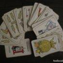 Barajas de cartas: BARAJA DE CARTAS ANTIGUA-PUBLICIDAD GASEOSAS D-ANTECESOR COCA COLA-NAIPES COMAS-VER FOTOS-(V-17.078). Lote 165376550