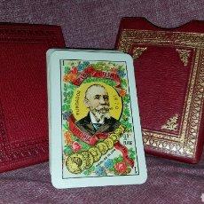 Barajas de cartas: BARAJA ANTIGUA COMPLETA EN SU FUNDA. Lote 165403316