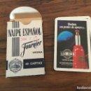 Barajas de cartas: BARAJA CARTAS FOURNIER PUBLICIDAD LOMIÑO ERMUA GATO COCHE. Lote 165449406