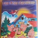 Barajas de cartas: BARAJA INFANTIL / LOS TRES CERDITOS / PRECINTADA SIN ABRIR.. Lote 165470170